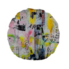 Graffiti Graphic Standard 15  Premium Flano Round Cushion