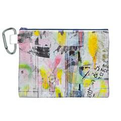 Graffiti Graphic Canvas Cosmetic Bag (XL)