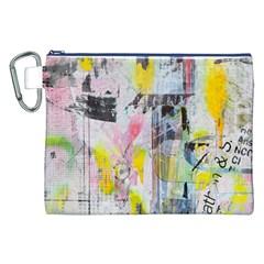 Graffiti Graphic Canvas Cosmetic Bag (XXL)