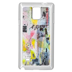 Graffiti Graphic Samsung Galaxy Note 4 Case (White)
