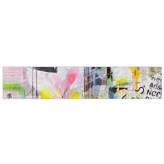 Graffiti Graphic Flano Scarf (Small)