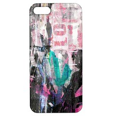 Graffiti Grunge Love Apple Iphone 5 Hardshell Case With Stand