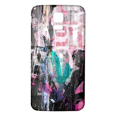 Graffiti Grunge Love Samsung Galaxy S5 Back Case (White)