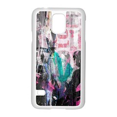 Graffiti Grunge Love Samsung Galaxy S5 Case (White)