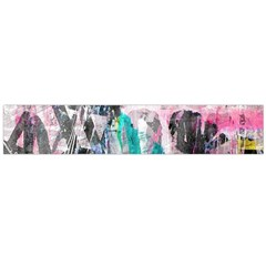 Graffiti Grunge Love Flano Scarf (Large)