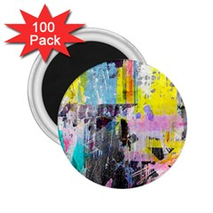Graffiti Pop 2 25  Button Magnet (100 Pack)