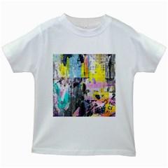 Graffiti Pop Kids T-shirt (White)