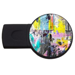 Graffiti Pop 2gb Usb Flash Drive (round)