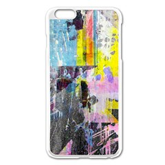 Graffiti Pop Apple iPhone 6 Plus Enamel White Case