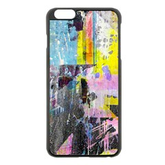 Graffiti Pop Apple iPhone 6 Plus Black Enamel Case