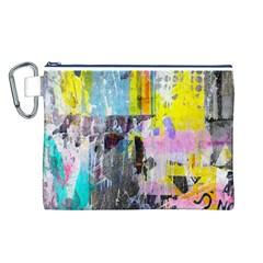 Graffiti Pop Canvas Cosmetic Bag (Large)