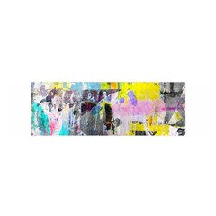 Graffiti Pop Satin Scarf (oblong)