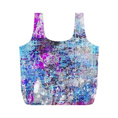 Graffiti Splatter Reusable Bag (m)