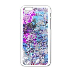 Graffiti Splatter Apple iPhone 6 White Enamel Case