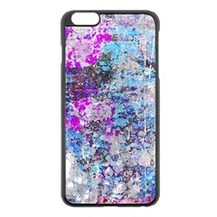Graffiti Splatter Apple iPhone 6 Plus Black Enamel Case
