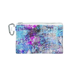 Graffiti Splatter Canvas Cosmetic Bag (Small)
