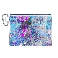 Graffiti Splatter Canvas Cosmetic Bag (Large)