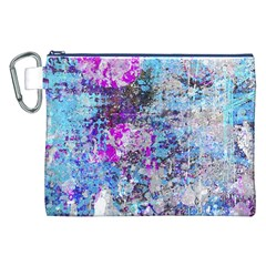 Graffiti Splatter Canvas Cosmetic Bag (XXL)