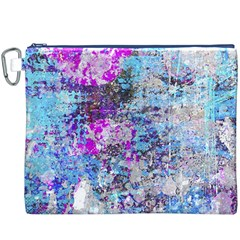 Graffiti Splatter Canvas Cosmetic Bag (XXXL)