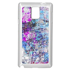 Graffiti Splatter Samsung Galaxy Note 4 Case (White)
