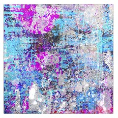 Graffiti Splatter Large Satin Scarf (Square)