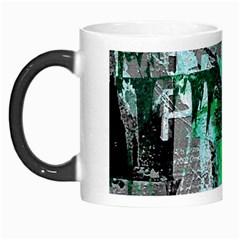 Green Urban Graffiti Morph Mug
