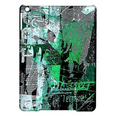 Green Urban Graffiti Apple Ipad Air Hardshell Case
