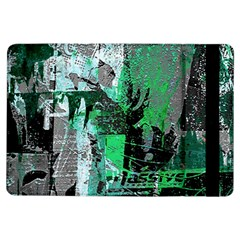 Green Urban Graffiti Apple iPad Air Flip Case