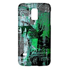 Green Urban Graffiti Samsung Galaxy S5 Mini Hardshell Case