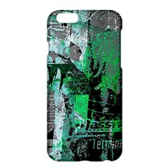 Green Urban Graffiti Apple Iphone 6 Plus Hardshell Case