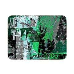 Green Urban Graffiti Double Sided Flano Blanket (Mini)
