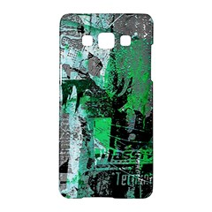 Green Urban Graffiti Samsung Galaxy A5 Hardshell Case