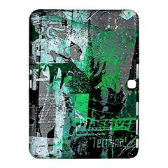 Green Urban Graffiti Samsung Galaxy Tab 4 (10 1 ) Hardshell Case