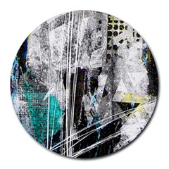 Urban Funk 8  Mouse Pad (round)