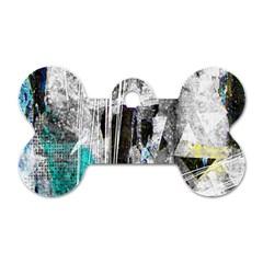 Urban Funk Dog Tag Bone (one Sided)