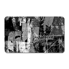 Urban Graffiti Magnet (rectangular)