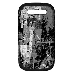 Urban Graffiti Samsung Galaxy S Iii Hardshell Case (pc+silicone)