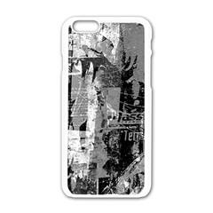 Urban Graffiti Apple iPhone 6 White Enamel Case