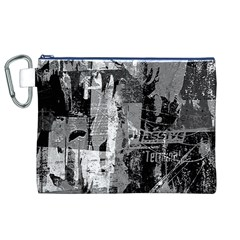 Urban Graffiti Canvas Cosmetic Bag (XL)