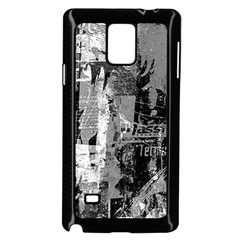 Urban Graffiti Samsung Galaxy Note 4 Case (black)