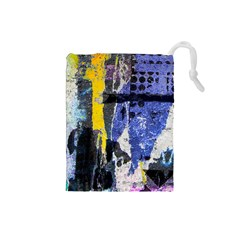 Urban Grunge Drawstring Pouch (Small)
