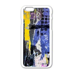 Urban Grunge Apple iPhone 6 White Enamel Case