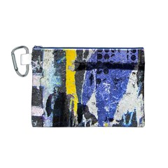 Urban Grunge Canvas Cosmetic Bag (Medium)