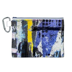 Urban Grunge Canvas Cosmetic Bag (Large)