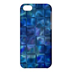 Blue Squares Tiles Apple Iphone 5c Hardshell Case