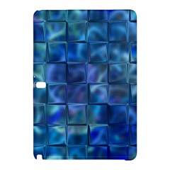 Blue Squares Tiles Samsung Galaxy Tab Pro 10.1 Hardshell Case