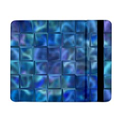 Blue Squares Tiles Samsung Galaxy Tab Pro 8 4  Flip Case