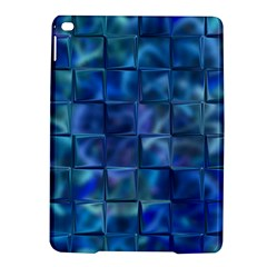 Blue Squares Tiles Apple iPad Air 2 Hardshell Case