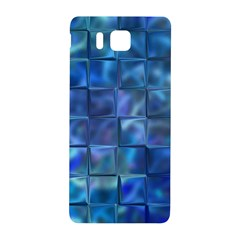 Blue Squares Tiles Samsung Galaxy Alpha Hardshell Back Case