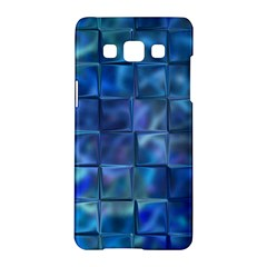 Blue Squares Tiles Samsung Galaxy A5 Hardshell Case